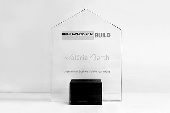trophee build award France interior design