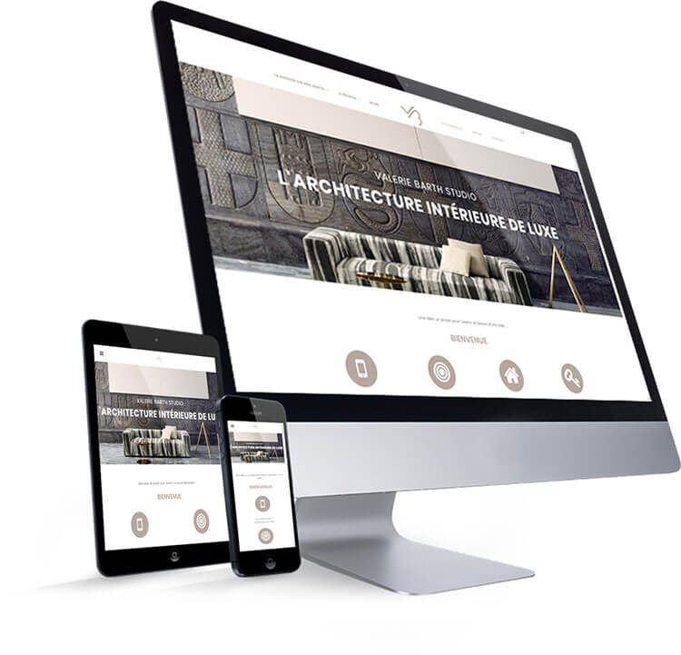 website architecture interieur webdesign