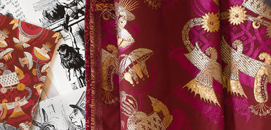 embroidery fabric luxury tradition francaise