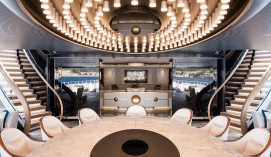 design interieur superyacht